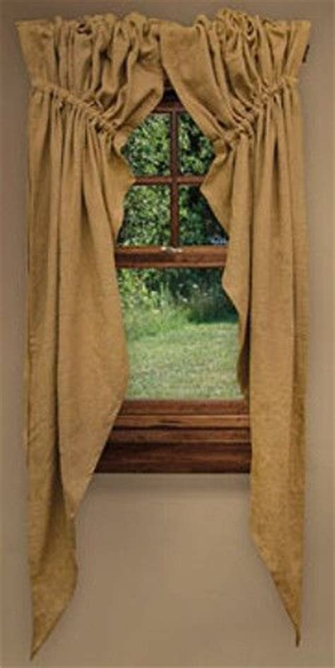 Farmhouse chic, Window curtains and Country farmhouse on
