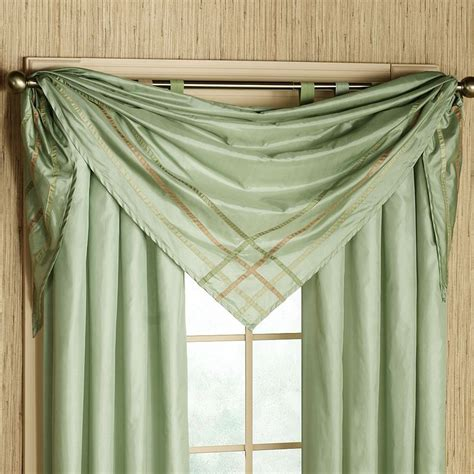 Kitchen Scarf Valance by 17 Best Ideas About Scarf Valance On Curtain