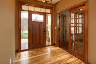 hickory floor cherry stained doors and trim home home