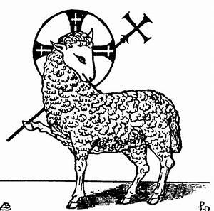 Christian Symbol   Lamb - PreachingSymbols
