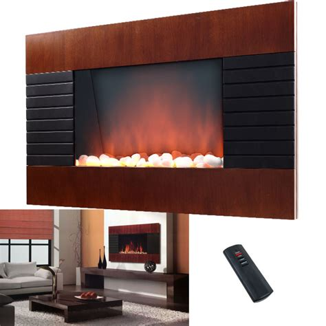 Wall Heater Covers Decorative - decorative wall fireplace heater with remote 750 1500w ebay