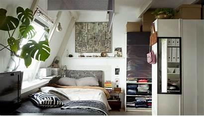 Studio Apartment Space Ikea Creative Saving Cosy