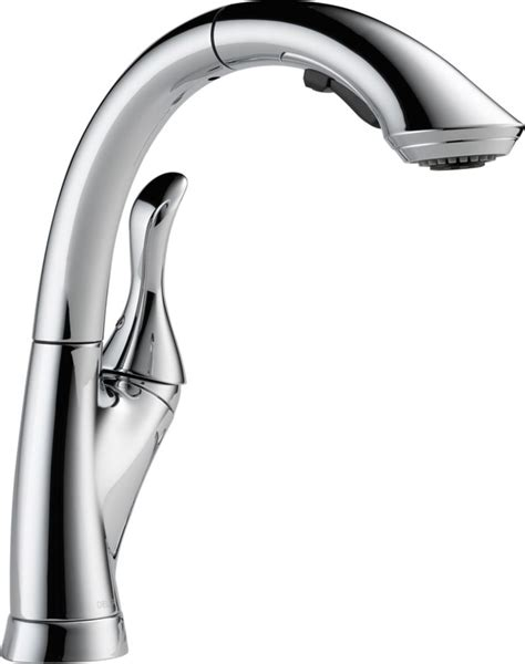delta linden faucet home depot delta linden single handle pull out sprayer kitchen faucet