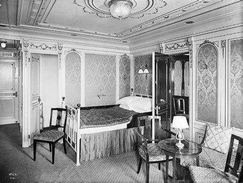 chambre premiere classe cabines et suites de première classe le titanic en 1912