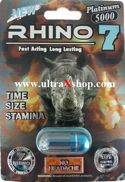 Rhino 7 5000 Male Enhancement Pill Consumer Reviews