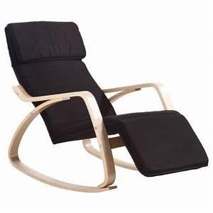 Fauteuil Bascule Alinea : rocking chair chaise bascule fauteuil relaxant noir vente de paolo collaner conforama ~ Teatrodelosmanantiales.com Idées de Décoration