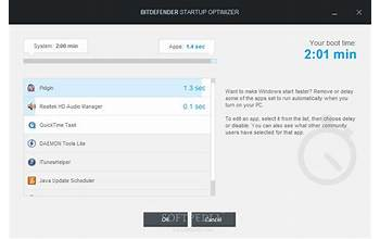 Bitdefender Internet Security screenshot #0