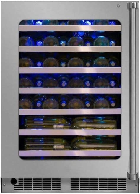 marvel professional series  cu ft high efficiency single zone wine refrigerator stainless
