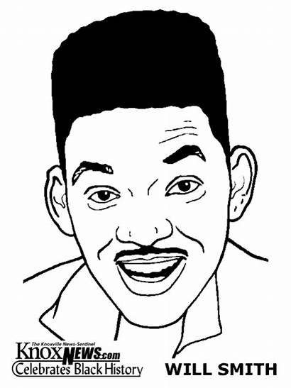 Coloring Pages History Month Smith Sheets Drawing