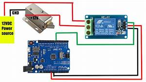 Relay Module   Solenoid Door Lock How To Control Them With An Arduino