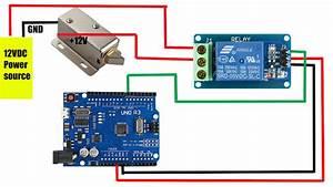 Relay Module   Solenoid Door Lock How To Control Them With