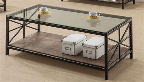 Avondale Black Glass Coffee Table  Stealasofa Furniture