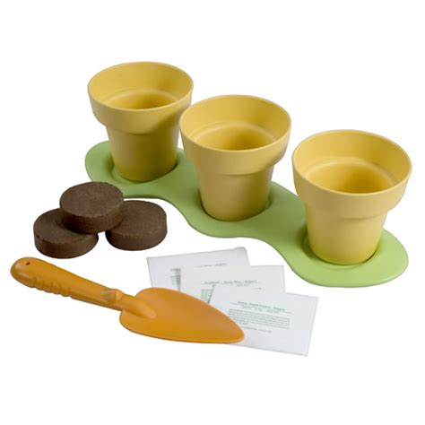 eco friendly indoor gardening kit by green toys