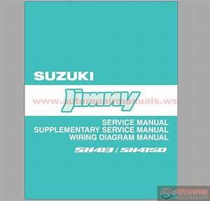 Suzuki Jimny Sn413 Sn415d 1996