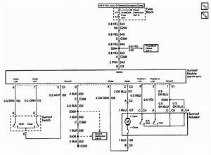 2003 Cadillac Ct Sunroof Wiring Diagram