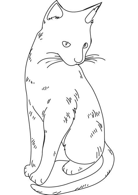 dibujos de gatitos simpaticos  colorear colorear imagenes