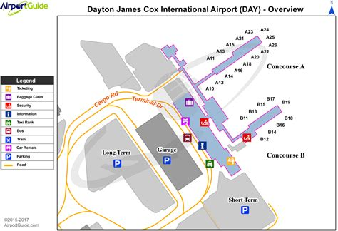 Dayton - James M Cox Dayton International (DAY) Airport ...