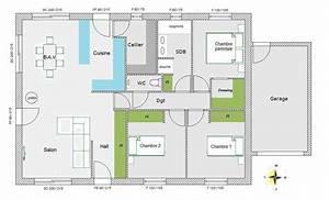 avis sur mon plan 95 m2 plein pied 84 messages With plan maison plain pied 200m2