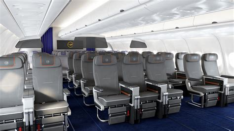 siege plus a380 cabine premium economy de lufthansa sur l airbus a340