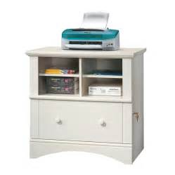 shop sauder harbor view antiqued white 2 drawer file