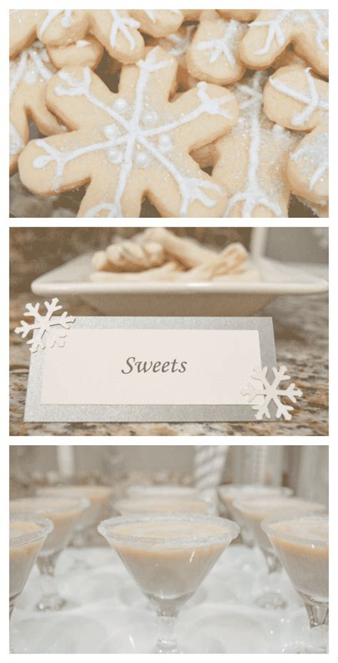 white christmas party ideas  decorations fantabulosity