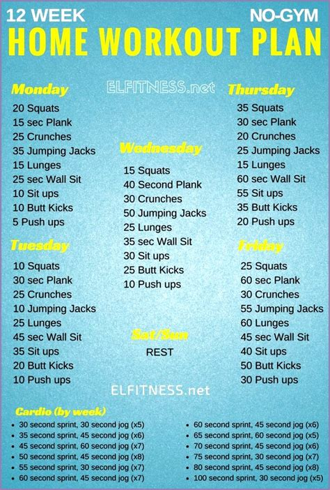 plan workout fitness 60 woman plans exercises basic