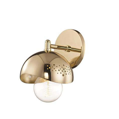 Polished Brass Sconce - livex lighting providence 2 light polished brass sconce