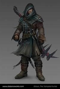 Kiroun, The Vampire Hunter by Dabana on DeviantArt