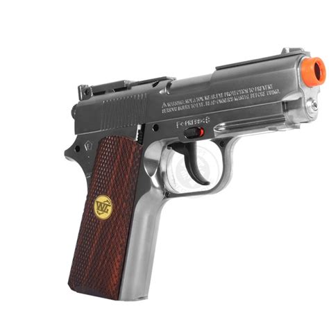 WG Full Metal 1911 ACP Airsoft CO2 Non Blowback Pistol ...