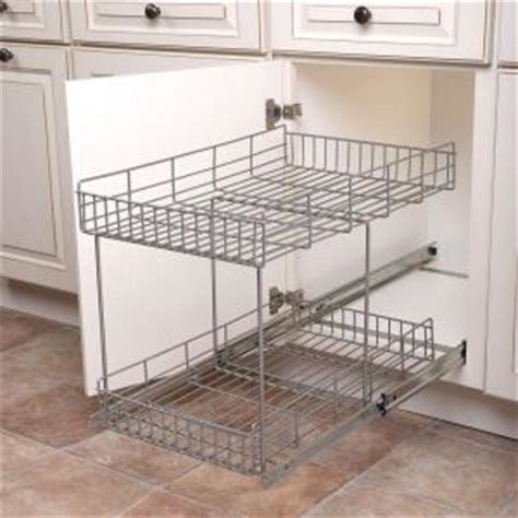 pull out trays for kitchen cabinets real solutions for real 17 in h x 15 in w x 22 in 9182
