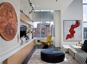 Deco Design Salon : d co murale salon en 50 id es originales et modernes ~ Farleysfitness.com Idées de Décoration