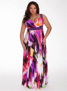 Plus size maxi dresses dressed up girl for Tropical wedding guest dresses