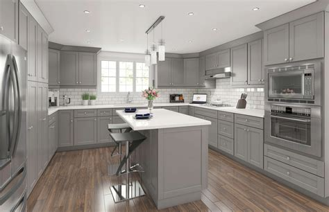 Gray Kitchen Cabinets by Alden Grey Shaker Cabinets Best Selling Discounted