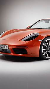 Wallpaper Porsche 718 Boxster S, sports car, red, Cars
