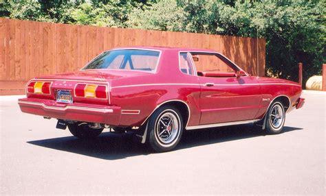dark red  ford mustang ii coupe mustangattitudecom