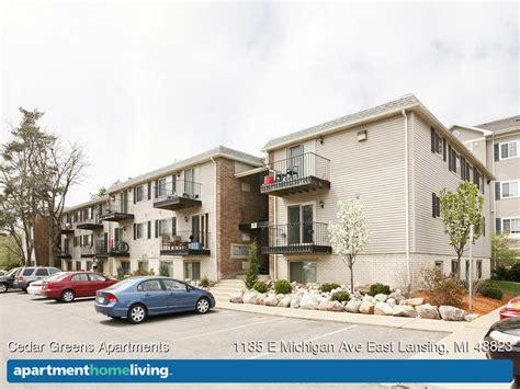 Apartments Lansing Mi by Cedar Greens Apartments East Lansing Mi Apartments For Rent