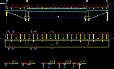 catwalk details viaduct  autocad cad