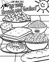 Coloring Grains Pages Healthy Eating Wheat Breads Grain Whole Printable Looking Getcolorings Stored sketch template