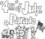 Parade 4th July Clipart Coloring Pages Clip Drawings Floats Fourth Cliparts Happy Iclipart Shore Bestcoloringpagesforkids Banner Library Independence Disney Hofman sketch template