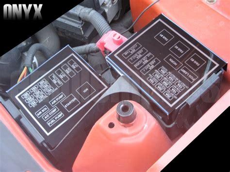 Camaro Fuse Box by 98 02 Camaro Firebird Trans Am Formula Black Stainless