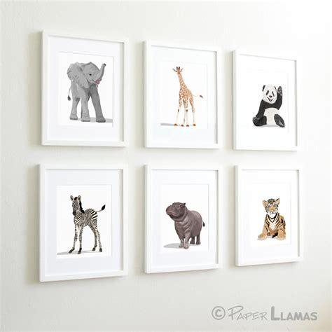 etsy nursery decor baby animal nursery modern minimalist nursery by