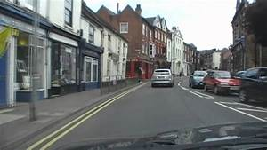 Driving Along London Road (A44), Worcester, Worcestershire ...
