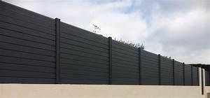 Cloture Sur Muret : avis et photos des clotures en aluminium la cloture alu ~ Carolinahurricanesstore.com Idées de Décoration