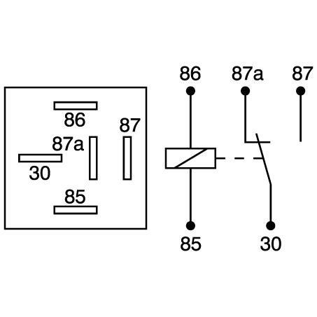 12v 30 change relay 5 pin butler auto mart