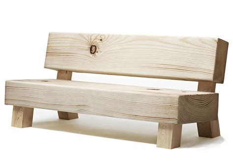 canapé cagne wood chair bench sofa by front moberg fung