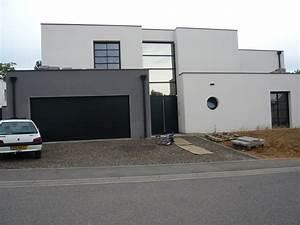 pour couleur crepis facades pinterest couleurs With amenagement exterieur maison moderne 4 la maison cubique en 85 photos