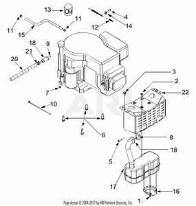 Troy Bilt 13aj609g766 Bronco  2004  Parts Diagram For