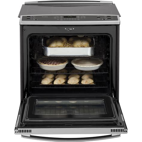 pssfss ge profile    electric convection range warming drawer