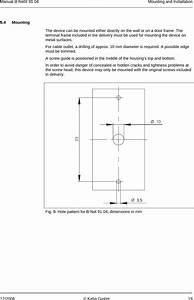Dormakaba Ead Bnet9104 Inductive Tag Reader User Manual