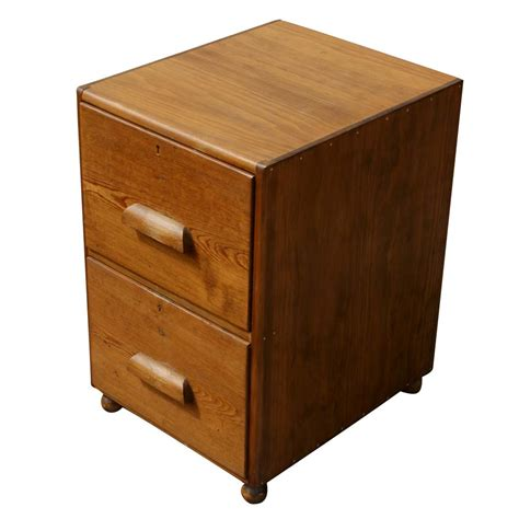 oak filing cabinet 2 drawer mid century two drawer oak filing cabinet